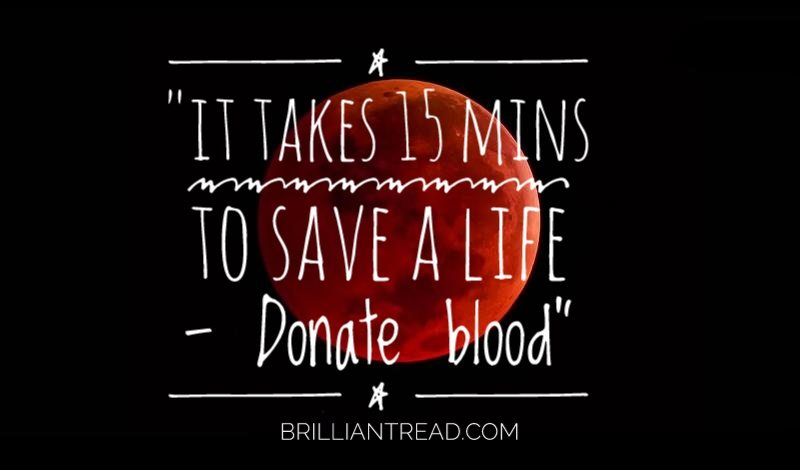 best quotes blood donation