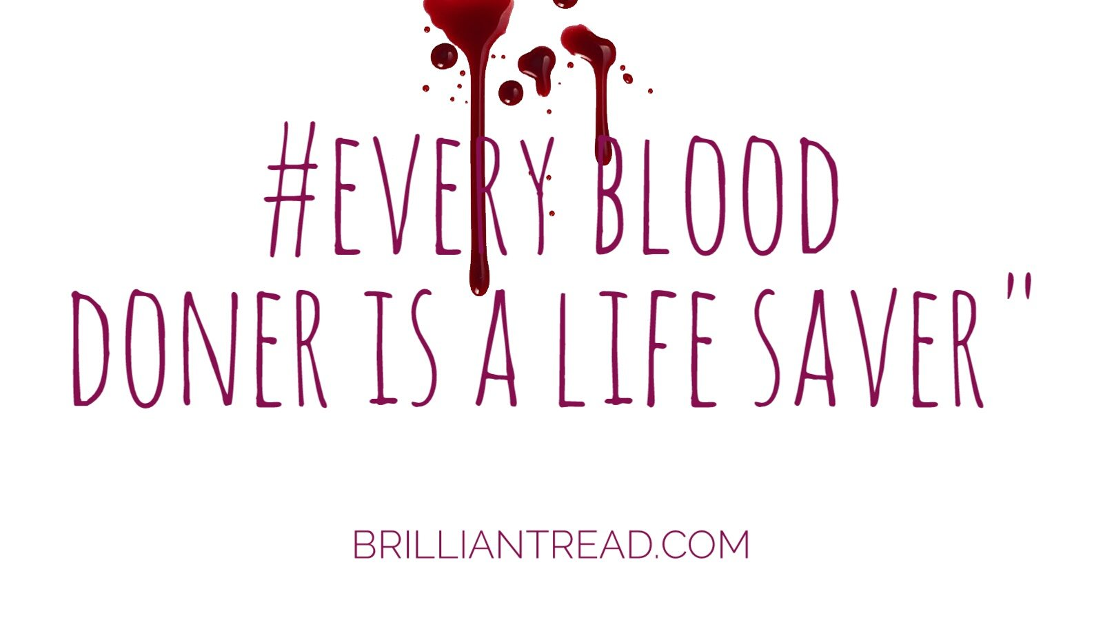 Donation Quotes Top 20 Blood Donation Quotes And Slogans  Brilliant Read