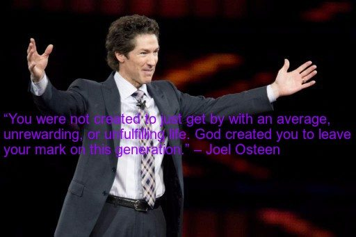 Joel Osteen Encouragement