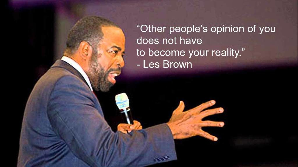 Best Les Brown Quotes