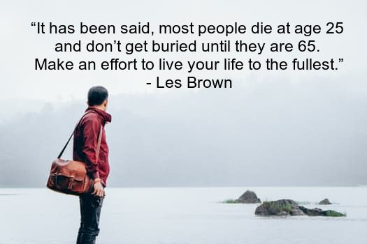 Les Brown success quotes