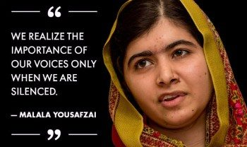 Malala quotes peace education terrorism I am Malala