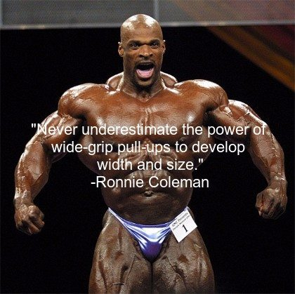 Ronnie coleman best quotes
