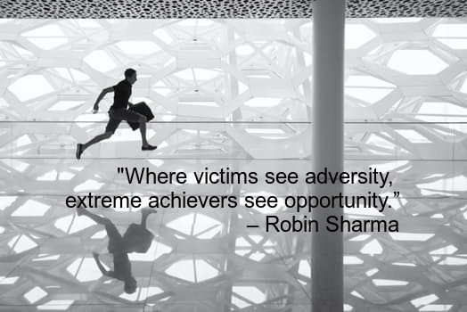 Robin Sharma Best Quotes passion success failure adversity life
