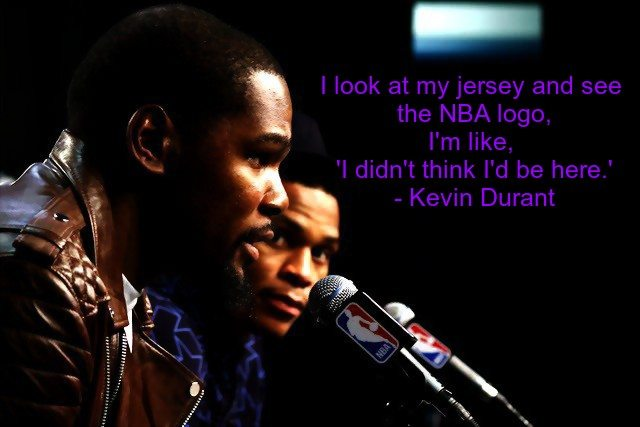 Best Kevin Durant Quotes basketball hardwork motivation