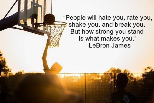 Quotes For Basketball Brilliant 37 Famous Lebron James Quotes On Success And Basketball