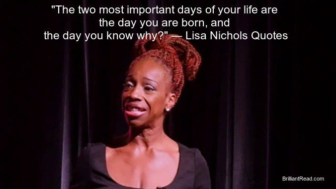 Lisa Nichols Quotes bio networth speech motivation