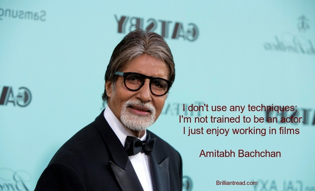Best Amitabh Bachan Quotes