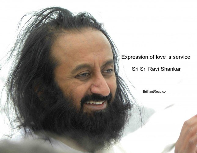 Sri sri ravi Shankar quotes on love