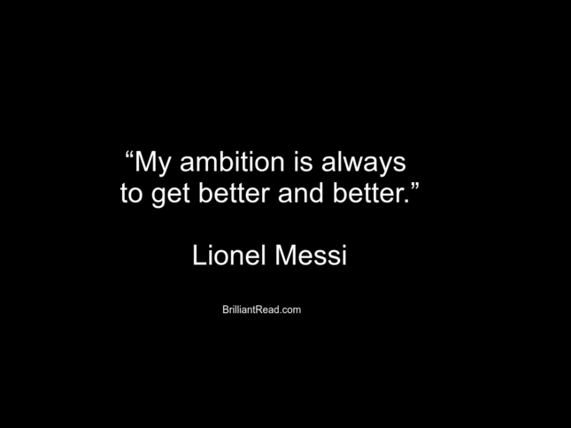 Messi Soccer Quotes