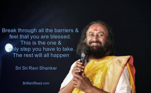 Best Shri Shri ravi Shankar quotes