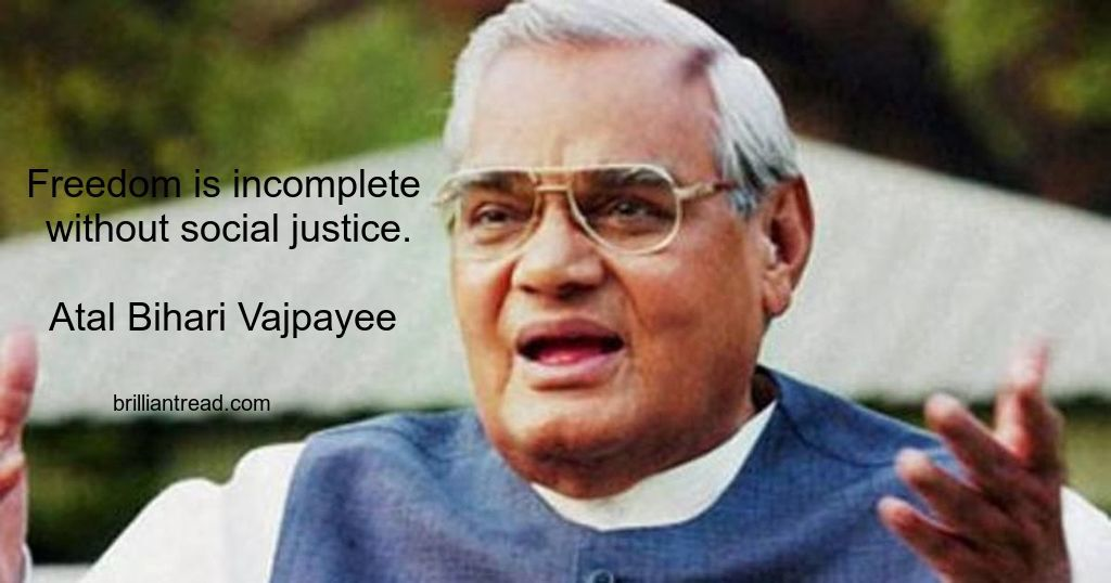 Best Atal Bihari Quotes
