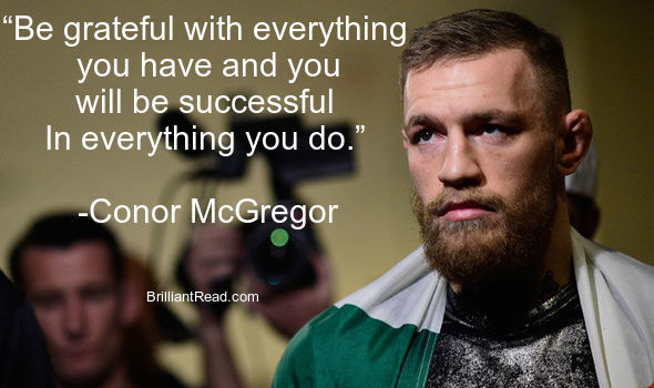 Top 20 Conor Mcgregor Quotes on life success best quote ever quotes inspirational