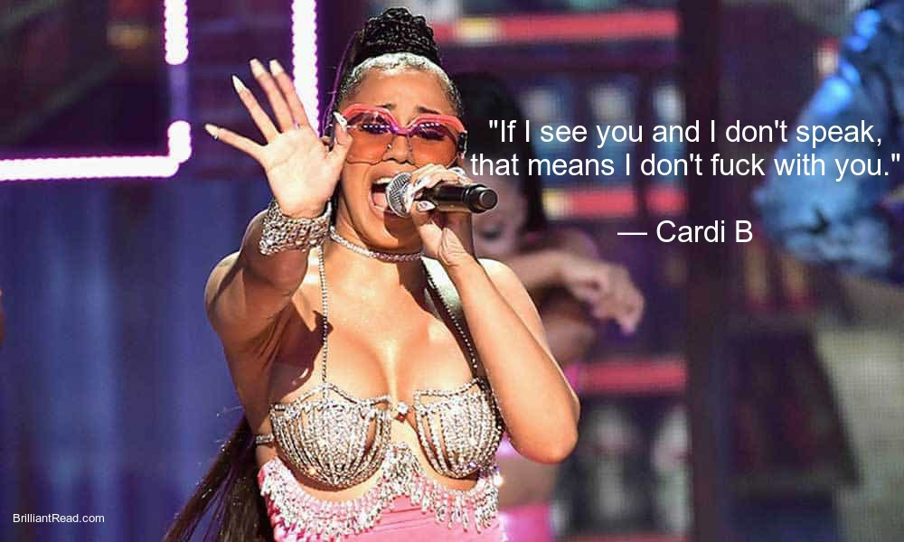 Cardi B Quotes for girls