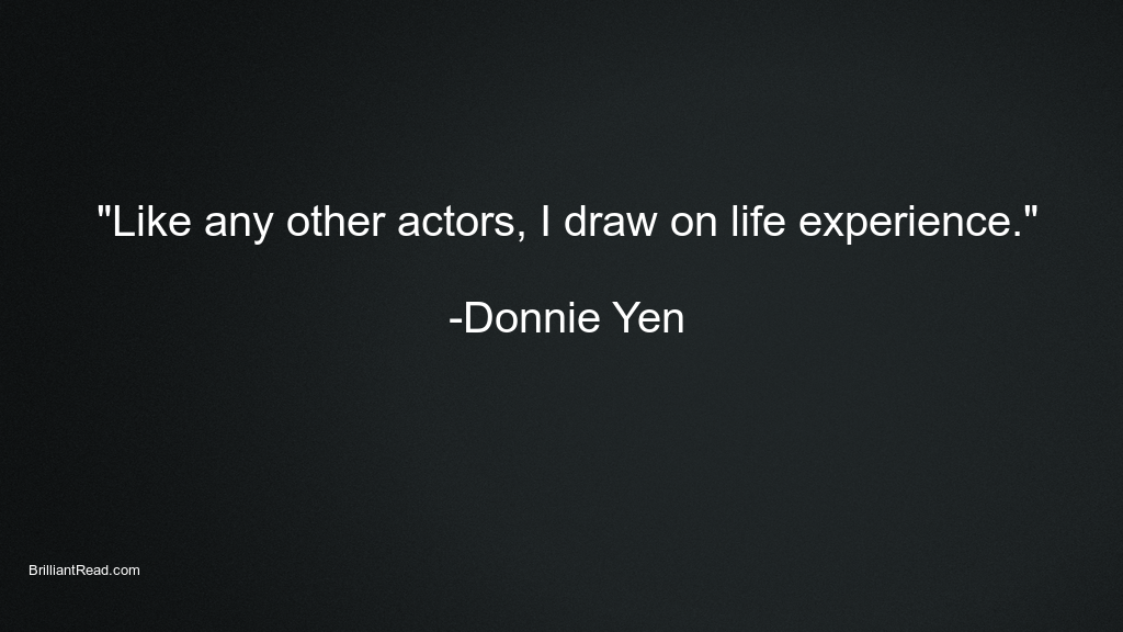 donnie yen best quotes