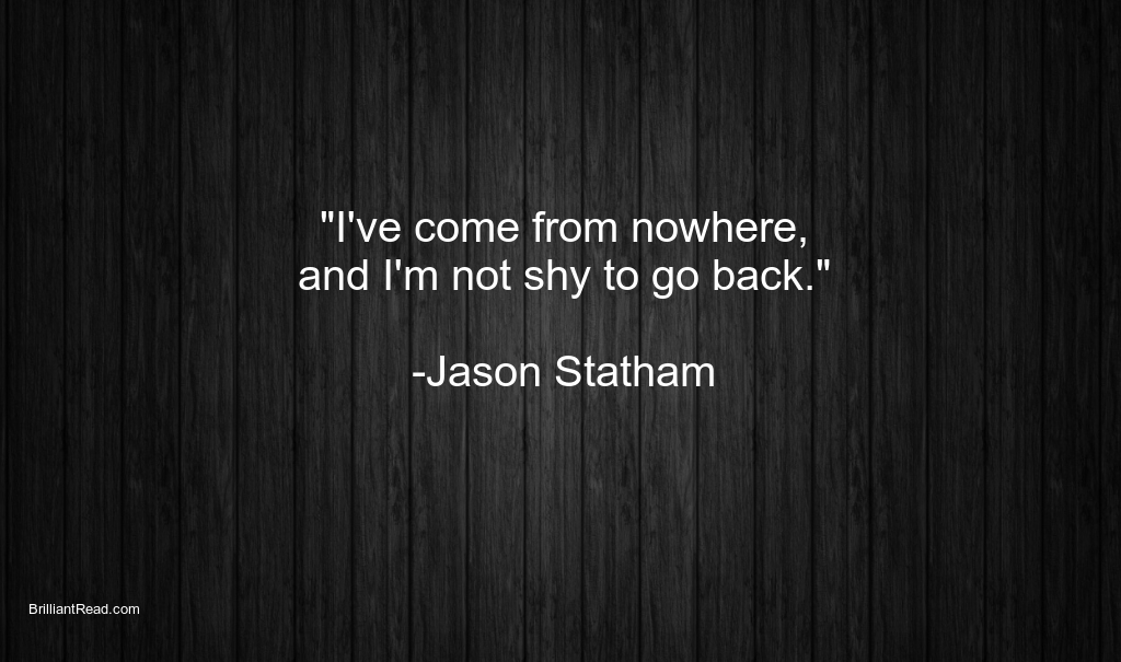 Jason Statham best ever quotes