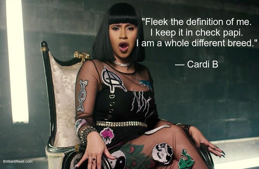 Cardi B Inspirational Quotes