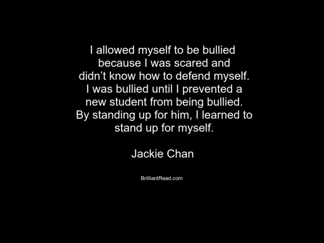 Inspirational Jackie Chan Quotes