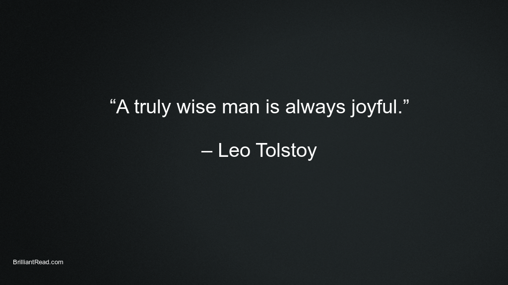 Leo tolstoy quotes on men