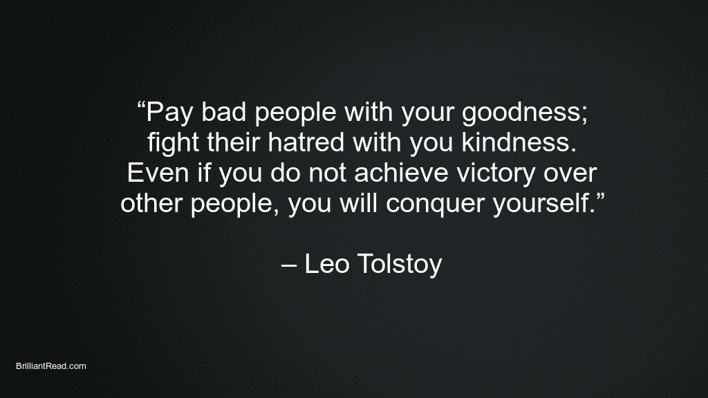 Leo tolstoy bets quotes