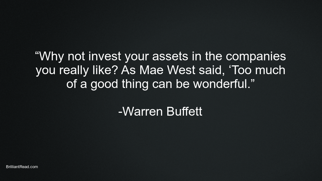Investment Quotes by Warren Buffett