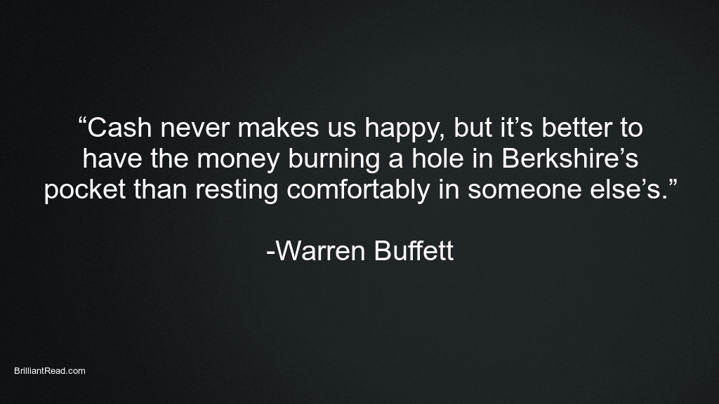 Warren Buffett best Quotes on Money investing life