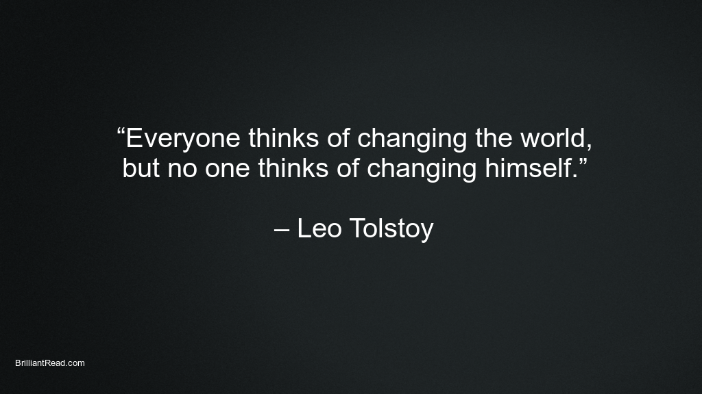 Leo Tolstoy quotes life people society love affection sec