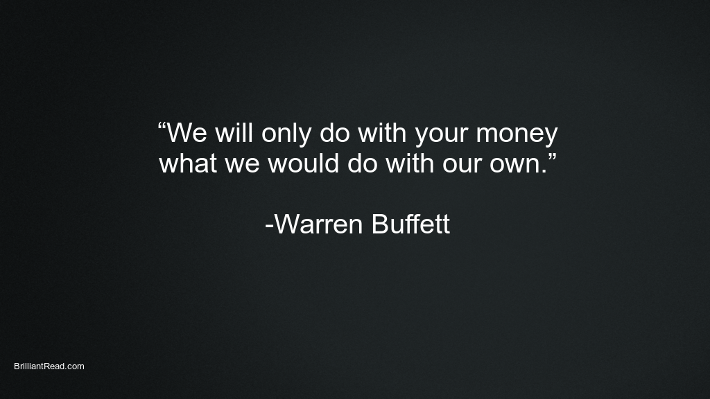Warren Buffett Quotes on Value investing