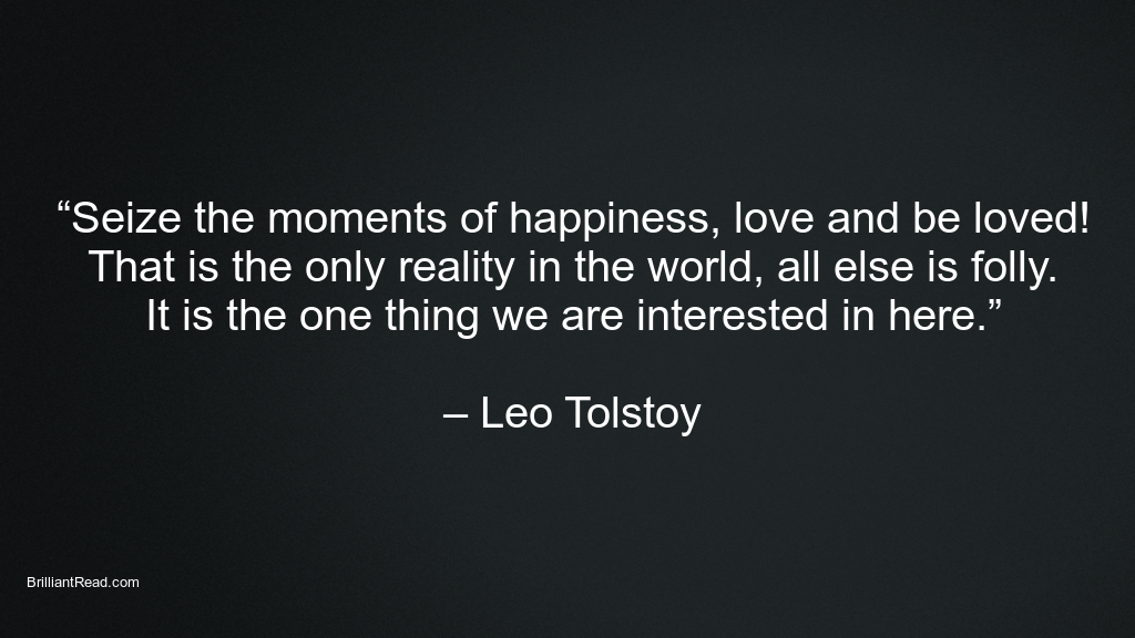 Leo tolstoy quotes on happiness