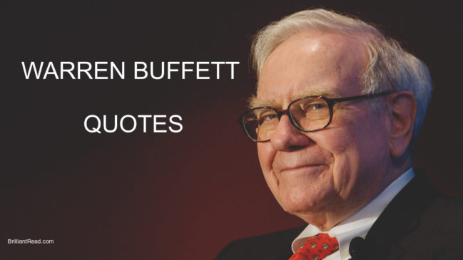 warren buffett quotes on life money business investing success failure longterm investments