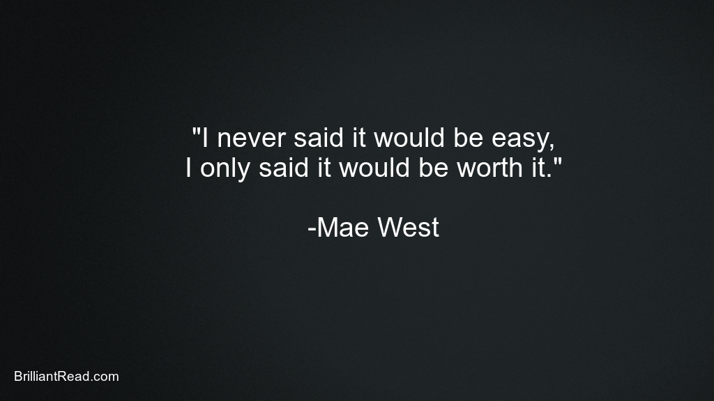 Mae West Quotes on Love