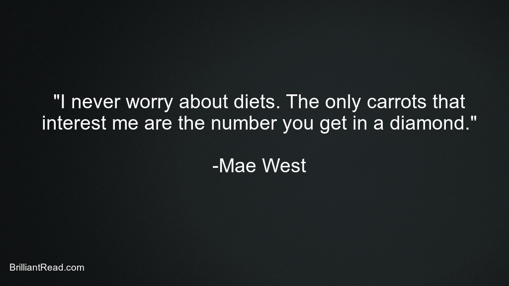 Mae West Quotes for Girls