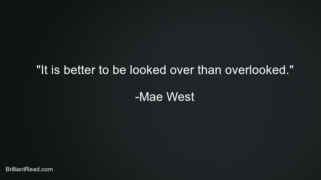 Mae West Quotes motivational