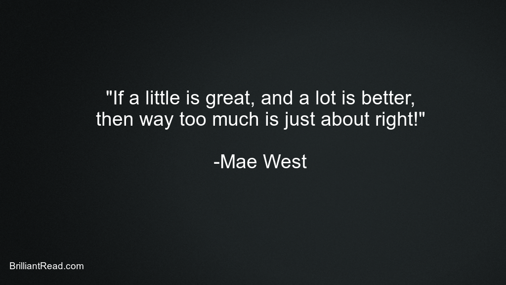 Mae West Best Ever Quotes