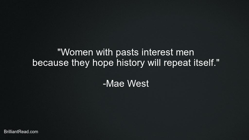 Motivational Mae West Quotes for Women