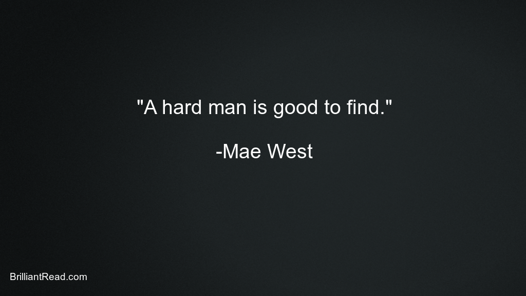 Best Mae West Quotes