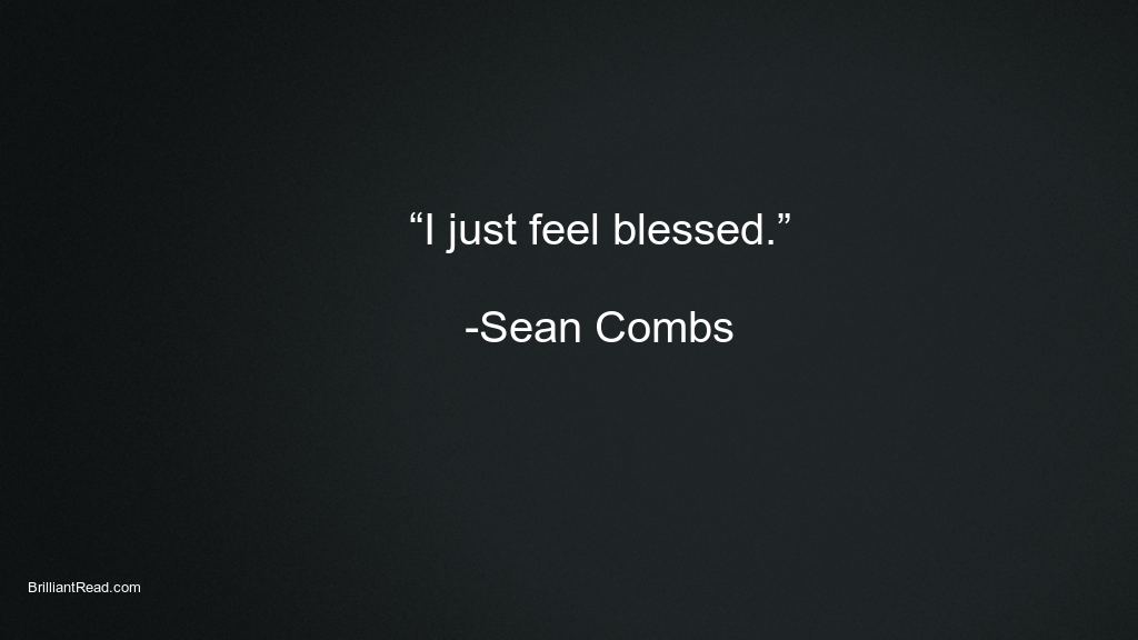 Sean Combs best quotes
