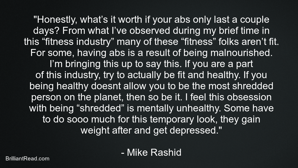 motivational mike Rashid quotes