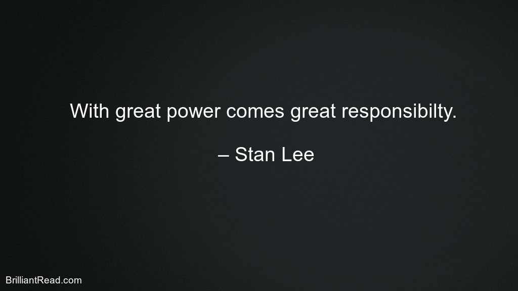 Comic Quotes by stan lee