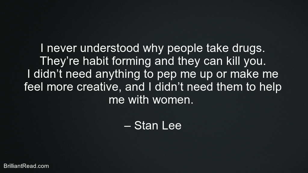Motivational stan lee Quotes