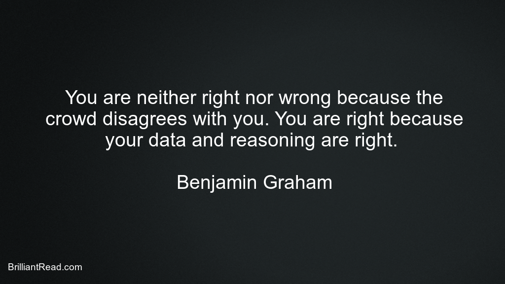 Business Quotes by Benjamin Graham