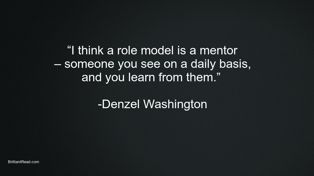 Denzel Washington Motivation Quotes