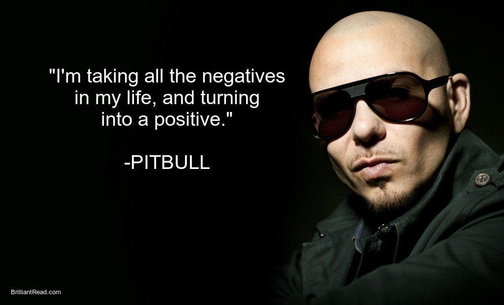 Best Pitbull rapper quotes