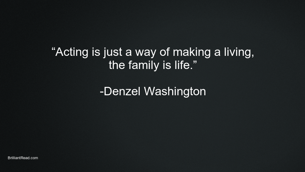 Best Success Quotes by Denzel Washington