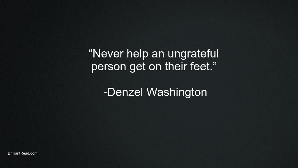 Best Quotes for motivation by Denzel Washington