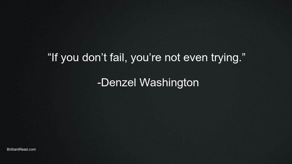 Hard Work Quotes by Denzel Washington