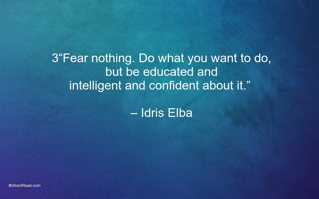 Best Quotes by Idris Elba