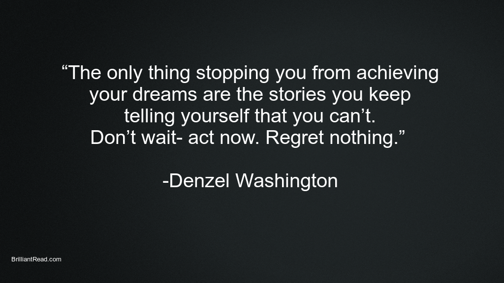 Top Best Denzel Washington Quotes