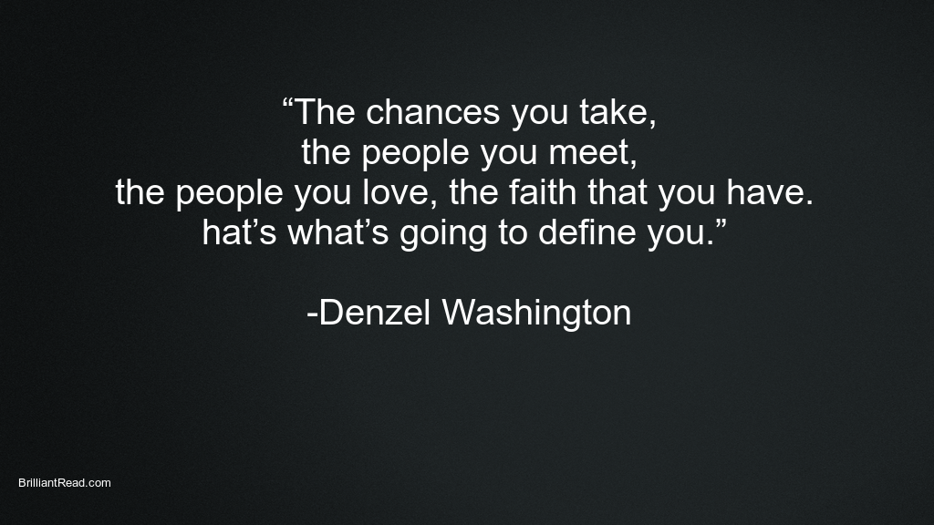 Quotes by Denzel Washington