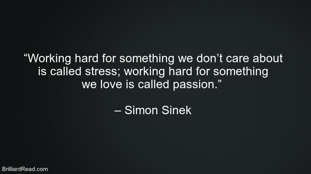 Simon Sinek Advice